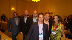 Member's of the Perficient team getting ready to accept Partner of the Year awards in every Microsoft US region