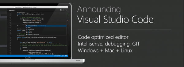 Visual Studio Code Announcement