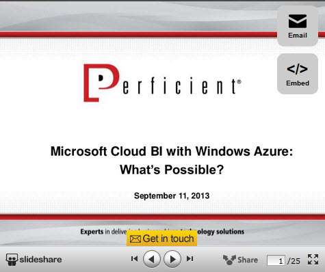 Cloud BI webinar image