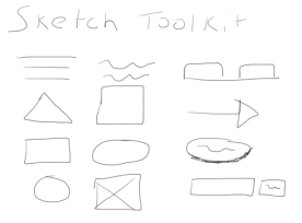 Sketch Toolkit - Line, Circles, Squares, Triangles