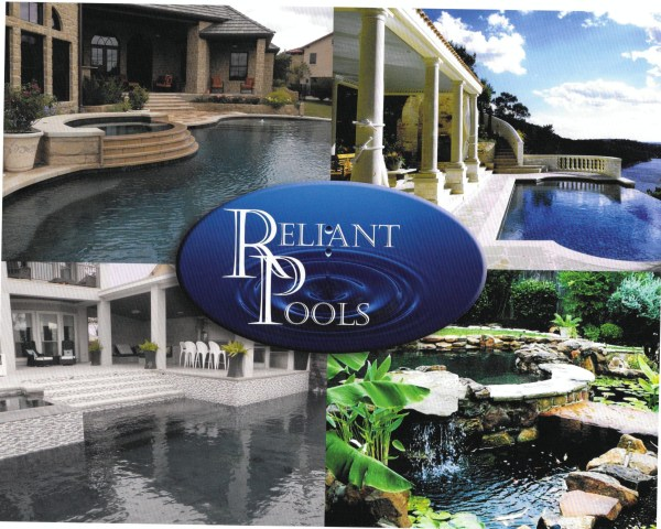 Beautiful swimming pools from Reliant Pools