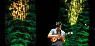 Ukulele master Jake Shimabukuro performs at the Peoria Civic Center