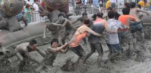 Boryeong Mud Festival in South Korea