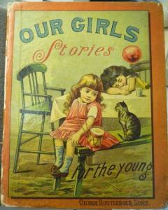 Cover of Our Girls: Stories for the Young (London: Routledge, [not before 1888]).