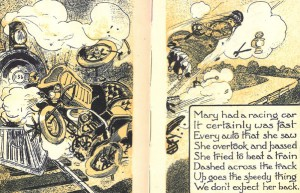 Herman Lee Meader. Motor Goose Rhymes. Illustrated by Pal. (New York: The Grafton Press Publishers, c1905).