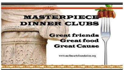 Masterpiece dinner club logo