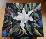 Danna Tartaglia painted table - top