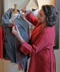 upcycled clothing with Diane Ericson at Ashland Art Center