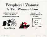 Peripheral Visions, a Two-Woman Show