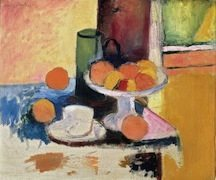1._Still_Life_with_Compote_and_Fruit_Henri_Matisse