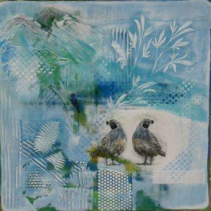 Quail, by Pam Haunschild