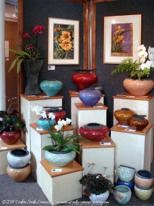 Exhibit of Dodero Studio Ceramics at Art Presence Art Center in Jacksonville