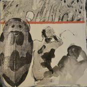 Cynthia Yatchman, Seattle, WA: Carapaces, Mixed Media, 12x12