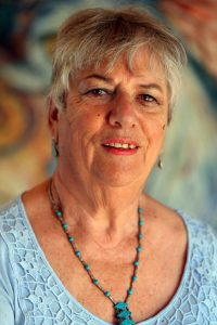 Clay artist Colleen Waata Urlich has been made an Officer of the NZ Order of Merit (ONZM) for her service to Maori arts in the New Year Honours. 30 December 2014 Northern Advocate Photograph by John Stone NAG 31Dec14 -