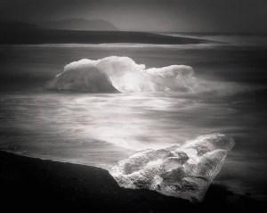 Ice Beach, photograph by Darcie Sternenberg