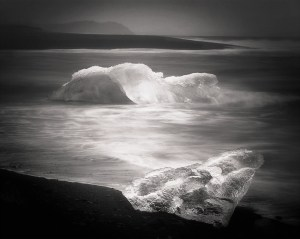 Ice Beach, photograph by Darcie Sternenberg