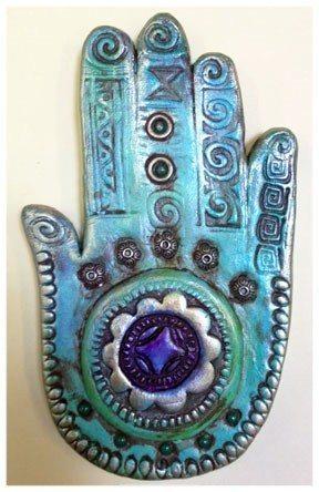 Cathy Dorris - Kindred Spirits - Hamsa Hand