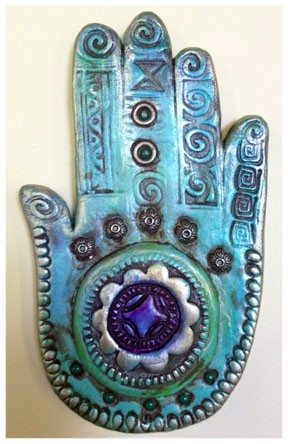 Cathy Dorris - Kindred Spirits - Hamsa Hand