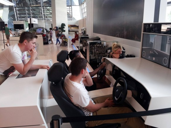 Business Management students at BMW in Munich
