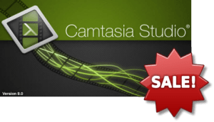 Camtasia Studio discount on upgrades