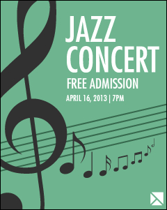 Snagit Stamps Concert Poster