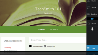 Snagit for Chrome and Google Classroom