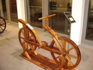 picture of weight loss bicycle from Leonardo