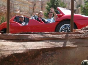 Carsland photo Radiator Springs Racers