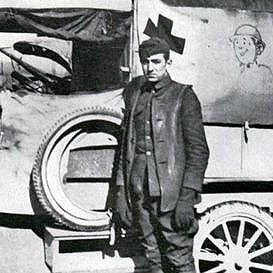 Photo of Walt Disney ambulance driver