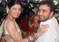 Shipla Shetty and Raj Kundra