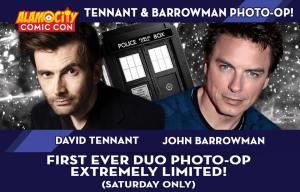 ALAMO CITY COMIC CON: David Tennant & John Barrowman Photo Ops Go On Sale Tomorrow