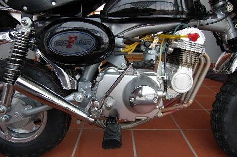 motorise 4 cylindres