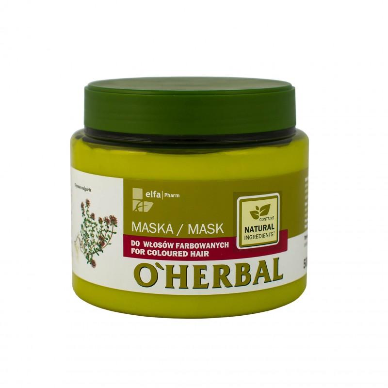 o-herbal-maska-do-wlosow-farbowanych-z-ekstraktem-z-macierzanki-tymianku