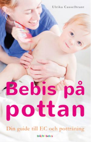 Bebis på pottan bok