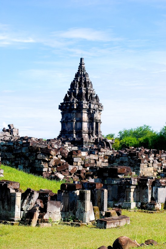 Prambanan Temple and small temples that surround it