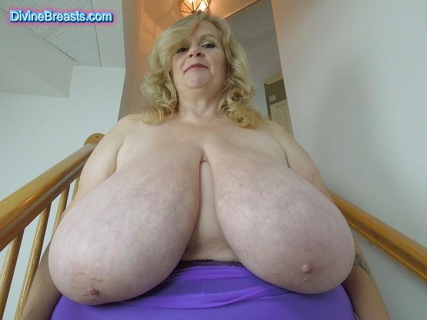 huge granny tit bow wow