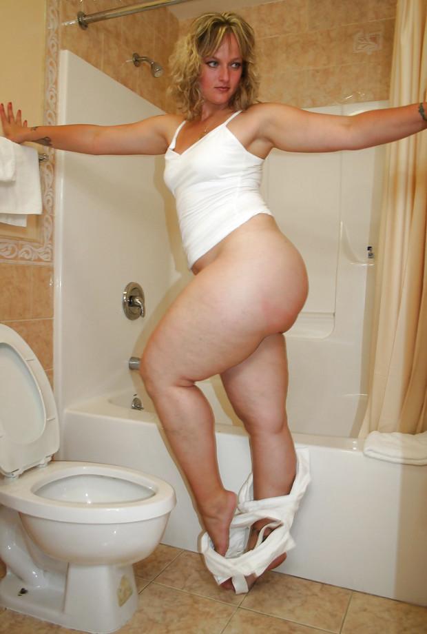 mature milf panties aside