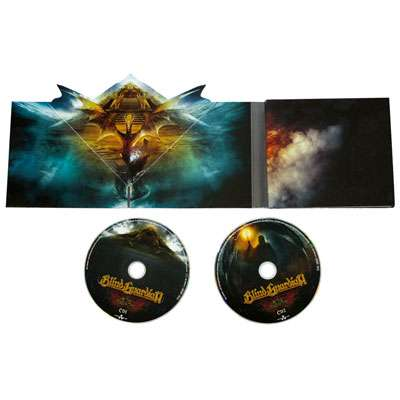 blind guardian cd at the edge of the time