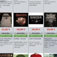 Dagoba a mis à jour sur le site officiel du groupe la boutique du groupe . On y retrouve de nouveaux t-shirts, bonnets et drapeaux à l'effigie du dernier album...