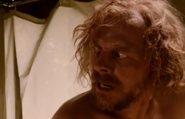 Simon Pegg in 'A Fantastic Fear of Everything'