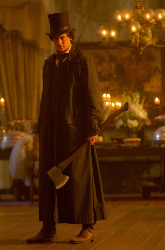 DF_23534 - Benjamin Walker, as ABRAHAM LINCOLN: VAMPIRE HUNTER, walks softly but carries a big…ax.
