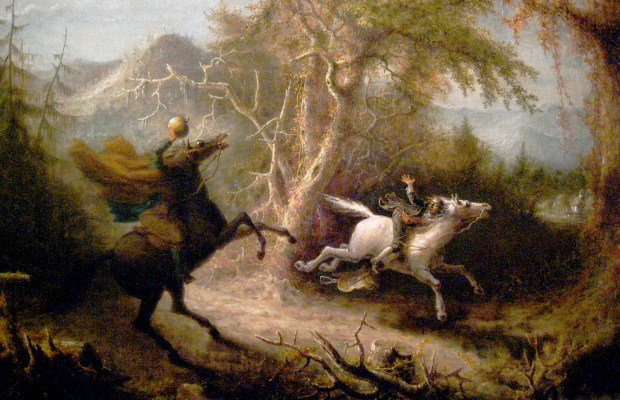 The_Headless_Horseman_Pursuing_Ichabod_Crane