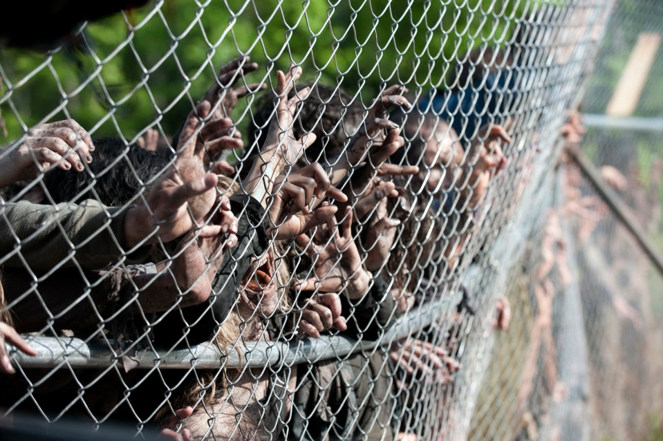 Walkers – The Walking Dead _ Season 4, Episode 1 – Photo Credit: Gene Page/AMC