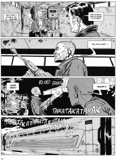 Snowpiercer Vol.1 interior page 2 (uncensored)