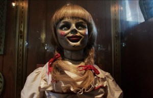 the conjuring annabell the doll face glass case