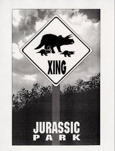 John Alvin - Jurassic Park poster - 10