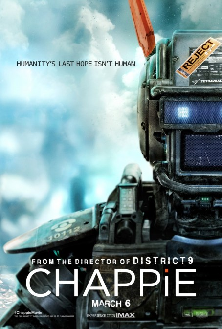 'Chappie' Front and Center In New Poster