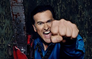 Ash vs Evil Dead; image courtesy of Starz