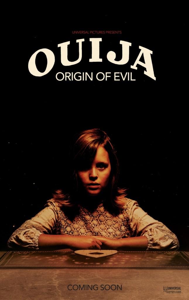 ouija origin of evil poster is simple yet effective