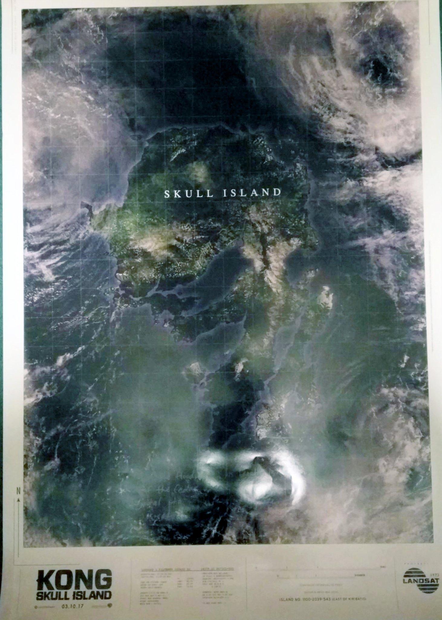 King Kong Skull Island Map